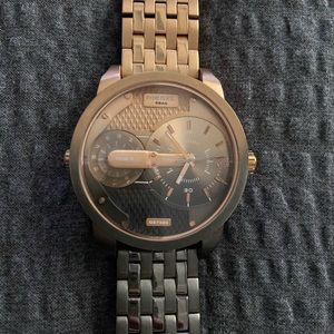 Men's Mini Daddy Rose Gold / Gunmetal Watch
